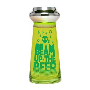 BigMouth Inc UFO Beer Glass Beam Up the Beer 24oz